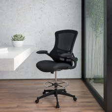 Flash Furniture Mid Back Mesh Ergonomic