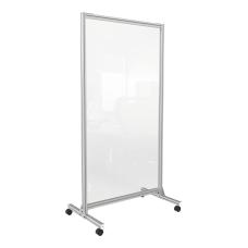 Ghent Glass Mobile Room Divider 74
