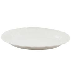 Gibson Home Caf Posh Embossed Platter