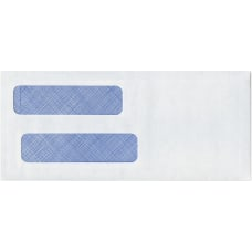 Custom Tinted Double Window Envelopes Regular