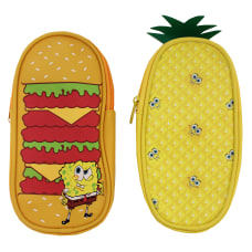 Inkology Nickelodeons SpongeBob SquarePants Pencil Pouches