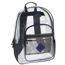 Trailmaker Clear Backpack Blue