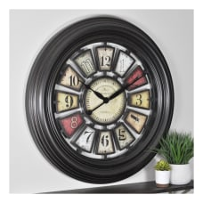 FirsTime Co Industrial Chic Wall Clock