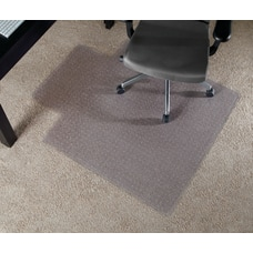 Realspace Wide Lip Chair Mat For