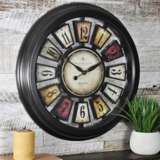 FirsTime Numeral Plaques Wall Clock 22