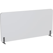 Lorell Acoustic Desktop Privacy Panel 59