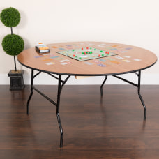 Flash Furniture Round Folding Banquet Table