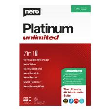 Nero Platinum Unlimited Suite Disc
