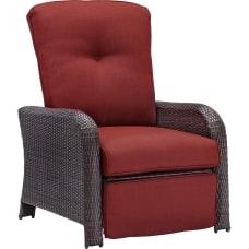 Hanover Strathmere Luxury Recliner Crimson RedBrown