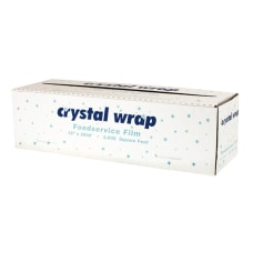 Anchor Packaging Crystalwrap Cutter Box Food