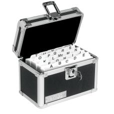 Vaultz Locking Index Card Box 3
