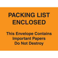 Tape Logic Important Papers Enclosed Envelopes