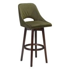 Zuo Modern Ashmore Bar Chair Green