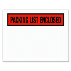 Partners Brand Packing List Enclosed Envelopes