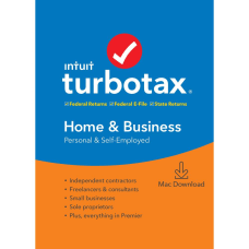 TurboTax 2019 Home and Business Federal