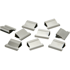 Clam Clip Refills Medium Silver Box