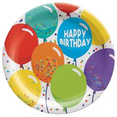 Amscan Birthday Celebration Paper Plates 9