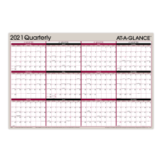 AT A GLANCE Reversible Erasable Quarterly