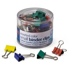 OIC Binder Clips Tub Small Clips