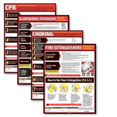 ComplyRight Lifesaving Poster Set