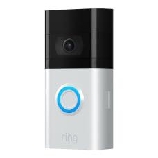 Ring Wireless HD Video Doorbell 3