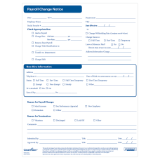 ComplyRight Payroll Status Changes Pack Of