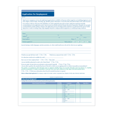 ComplyRight Short Job Applications Pack Of