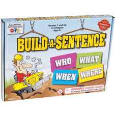 Learning Advantage Build A Sentence Game
