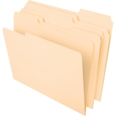 Pendaflex Heavyweight Manila File Folders Letter