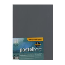 Ampersand Pastelbord 16 x 20 Gray