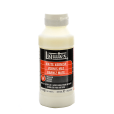 Liquitex Acrylic Permanent Matte Varnish 8