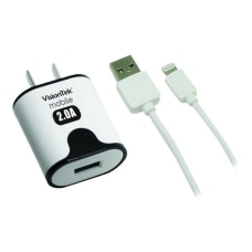 VisionTek 2 amp home charger with