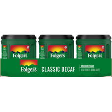 Folgers Classic Coffee Decaffeinated Light Roast
