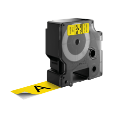 DYMO D1 53718 Black On Yellow