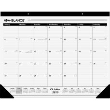 At A Glance 16 Month Monthly