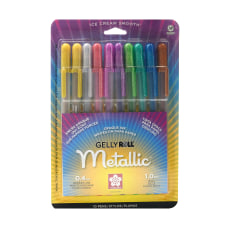 Sakura Gelly Roll Metallic Pens Assorted
