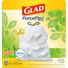 Glad Clorox OdorShield Trash Bags 13