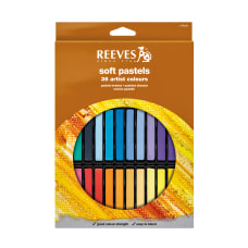 Reeves Soft Pastel Set Assorted Colors