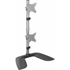 StarTechcom Vertical Dual Monitor Stand For