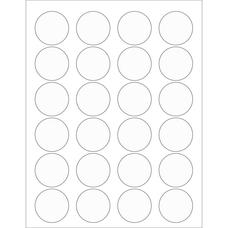 Office Depot Brand Circle Laser Labels