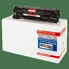MicroMICR MICRTHN78A HP 78A Black MICR