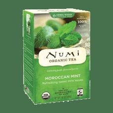 Numi Morroccan Mint Herbal Tea Box