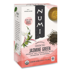 Numi Organic Jasmine Green Tea Box