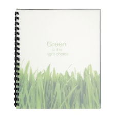 GBC 100percent Recycled Poly Binding Covers