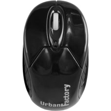 Urban Factory Wireless Bluetooth Mouse Black