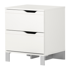 South Shore Kanagane 2 Drawer Nightstand