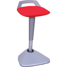 Lorell Active Seating Pivot Chair Red