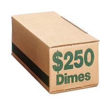 PM Company Coin Boxes Dimes 25000