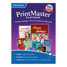 PrintMaster Platinum v9 Disc