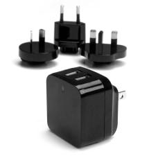 StarTechcom Travel USB Wall Charger 2